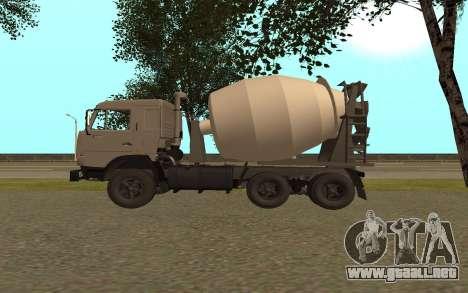 Camiones KAMAZ 53115 para GTA San Andreas left