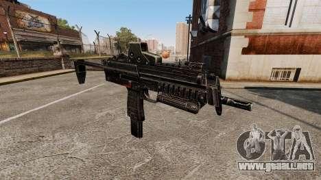 HK MP7 subfusil ametrallador v2 para GTA 4 tercera pantalla