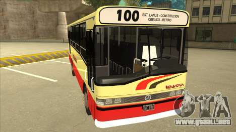 Mercedes-Benz OHL-1320 Linea 100 para GTA San Andreas left