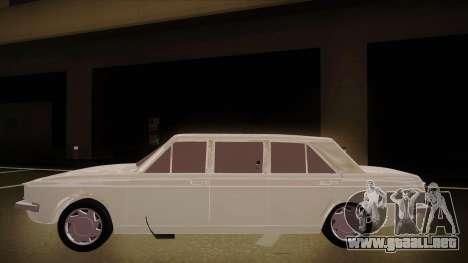 Paykan Limousine para GTA San Andreas vista posterior izquierda