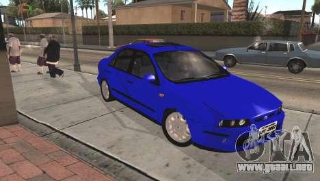 Fiat Marea Sedan para la visión correcta GTA San Andreas