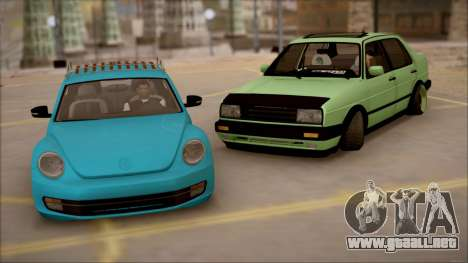 VW Jetta MK2 para la visión correcta GTA San Andreas