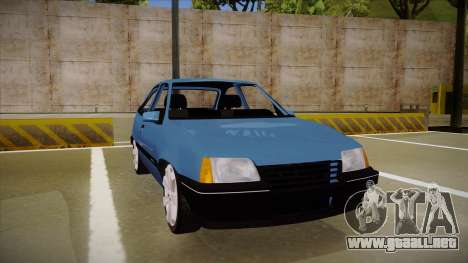 Chevrolet Kadett para GTA San Andreas left