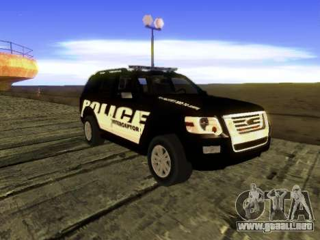 Ford Explorer 2010 Police Interceptor para GTA San Andreas