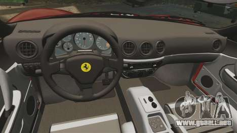 Ferrari 360 Spider 2000 [EPM] para GTA 4 vista lateral