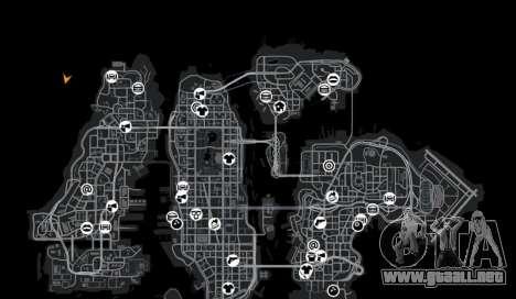 Ubicación DesertDrift ProStreetStyle para GTA 4 novena de pantalla