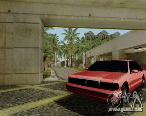 Premier tonificada para GTA San Andreas vista posterior izquierda