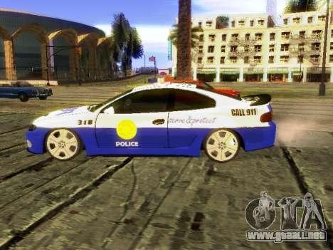Pontiac GTO Pursit Edition para GTA San Andreas left