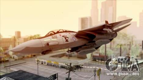 USA Navy Hydra para vista lateral GTA San Andreas