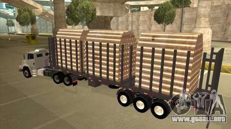 Mrecedes-Benz LS 2638 Canaviero para visión interna GTA San Andreas