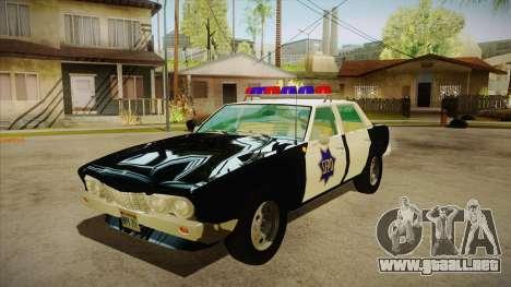 Fasthammer Police SF para GTA San Andreas