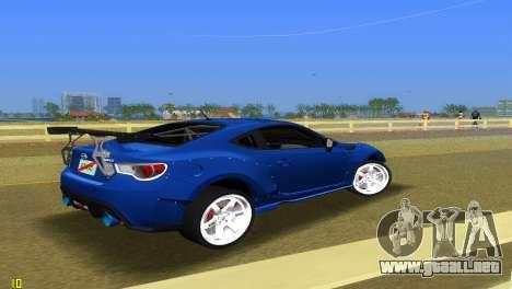 Subaru BRZ Type 5 para GTA Vice City visión correcta
