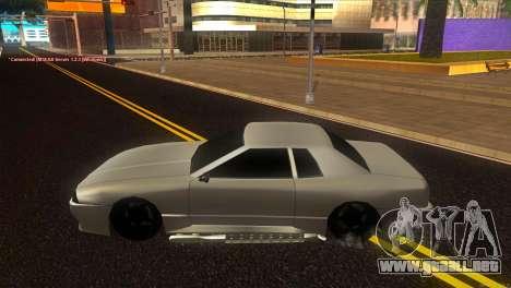 Elegy Estoq para GTA San Andreas left