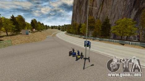 Ubicación del Okutama FZC para GTA 4 octavo de pantalla
