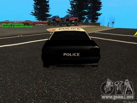 Elegy Police para la visión correcta GTA San Andreas