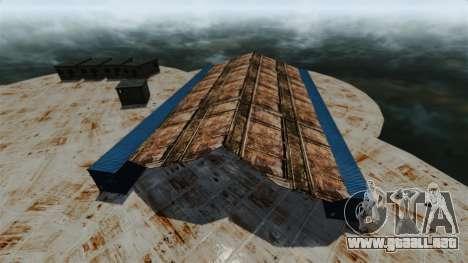 Base Naval para GTA 4 quinta pantalla