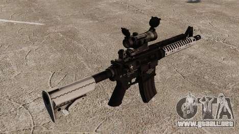 Automático carabina M4 VLTOR v6 para GTA 4 segundos de pantalla