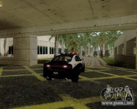 Dodge Charger 2012 Police IVF para la visión correcta GTA San Andreas