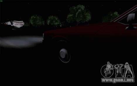 Chevrolet Caprice 1987 para vista inferior GTA San Andreas