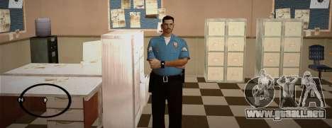 Cadet Of The Police Academy para GTA San Andreas sucesivamente de pantalla