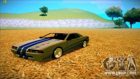 Paintjobs EQG Version for Elegy para GTA San Andreas