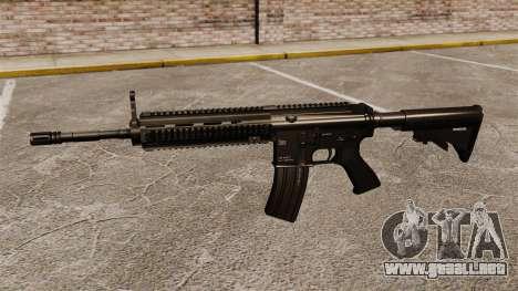 HK416 automático para GTA 4 tercera pantalla