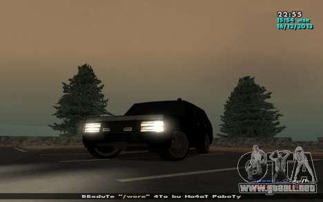 Huntley Mp-bandido para GTA San Andreas