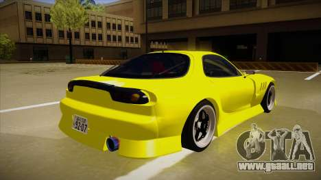 Mazda FD3S BN Sports para la visión correcta GTA San Andreas