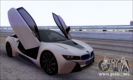 BMW I8 para visión interna GTA San Andreas