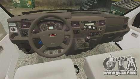 Sobol GAZ-2752 v1.1 para GTA 4 vista hacia atrás