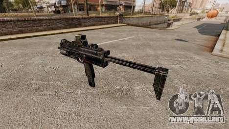 HK MP7 subfusil ametrallador v2 para GTA 4 segundos de pantalla