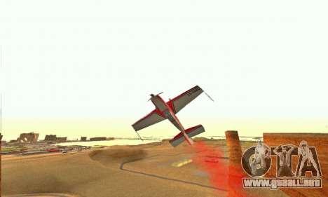 Stunt GTA V para visión interna GTA San Andreas