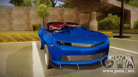 Chevrolet Camaro ZL1 Elite para GTA San Andreas left