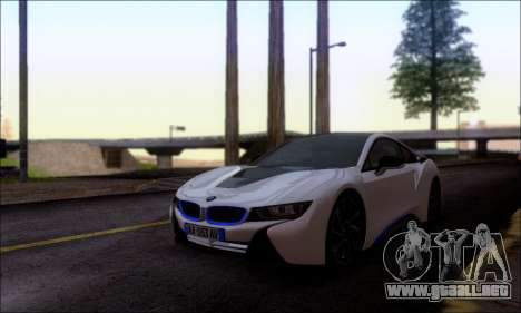 BMW I8 para la visión correcta GTA San Andreas