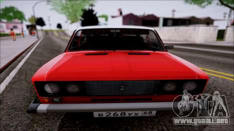 Retro 2106 VAZ para GTA San Andreas left