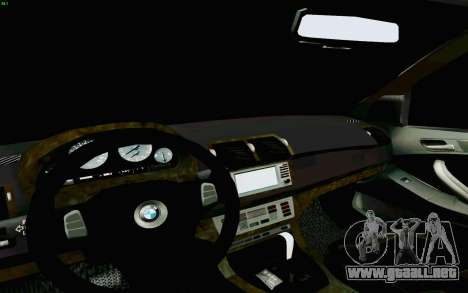 BMW X5 para la vista superior GTA San Andreas