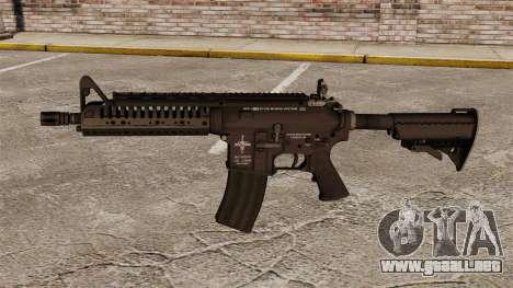 Automático carabina M4 VLTOR v1 para GTA 4 tercera pantalla