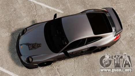 Porsche 911 GT2 RS 2012 Turbo para GTA 4 visión correcta
