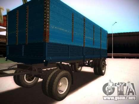Remolque Kamaz 5320 para GTA San Andreas