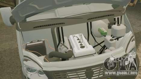 Negocio de gaz-3302 para GTA 4 vista interior
