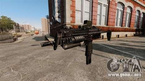 HK MP7 subfusil ametrallador v2 para GTA 4