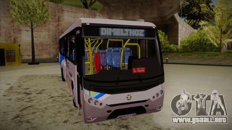 Marcopolo Senior Midi MB OF 1418 Rio Ita para GTA San Andreas left
