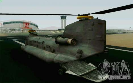 MH-47 para GTA San Andreas left