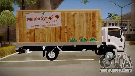 Chevrolet FRR Maple Syrup World para GTA San Andreas left