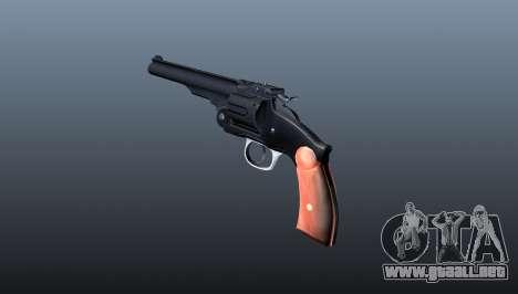 Schofield revolver v1 para GTA 4 segundos de pantalla