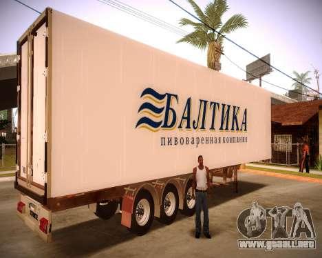 Chaquetón Báltico para GTA San Andreas