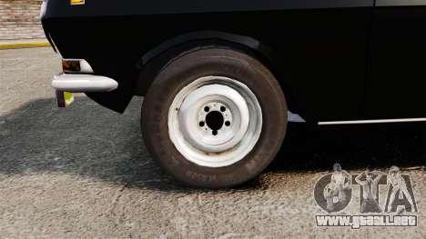 Volga GAZ-2410 v1 para GTA 4 vista hacia atrás