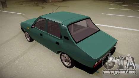 Dacia 1310 Berlina 2001 para GTA San Andreas vista hacia atrás