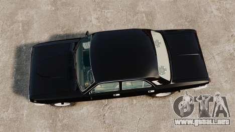Volga GAZ-2410 v1 para GTA 4 visión correcta