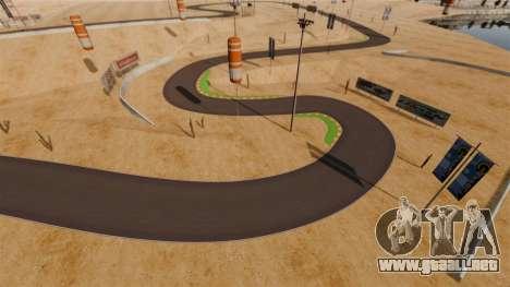 Ubicación DesertDrift ProStreetStyle para GTA 4 sexto de pantalla